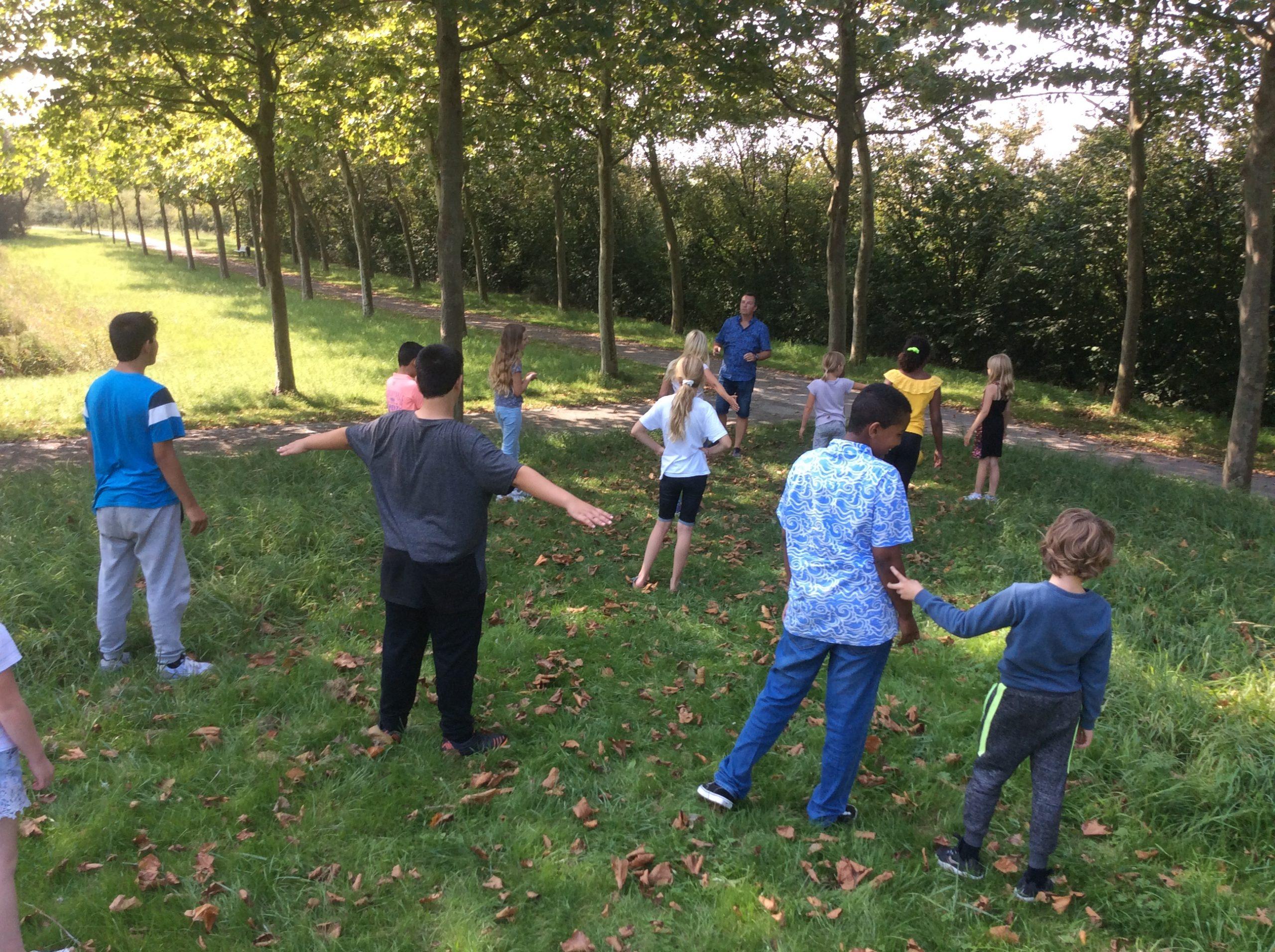 Veel aandacht voor buiten bewegen en leren bij Omnis Kindcentrum Franck van Borssele
